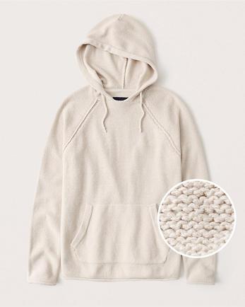 ANFBeachy Cotton-Blend Hoodie