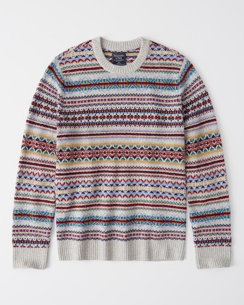 ebbc309c11 Mens Fair Isle Sweater