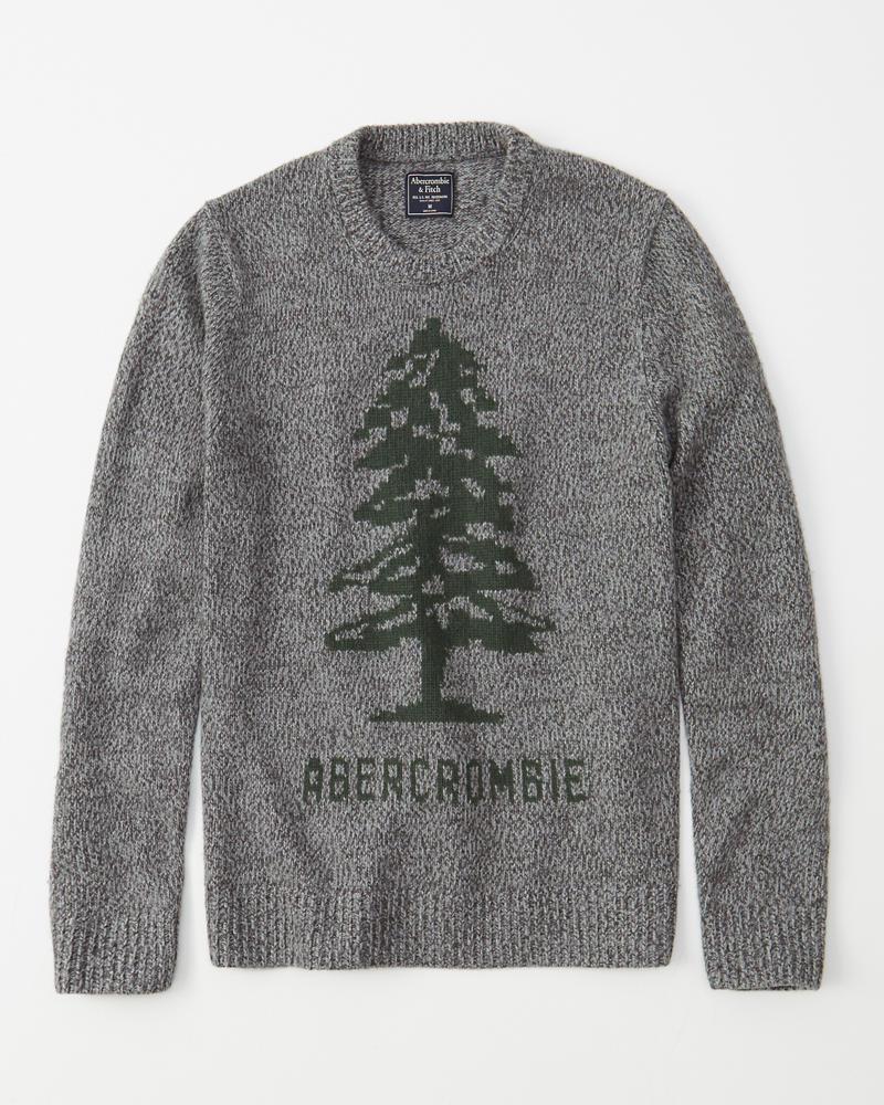 daa78addfcb7f2 Mens Heritage Logo Sweater | Mens Clearance | Abercrombie.com