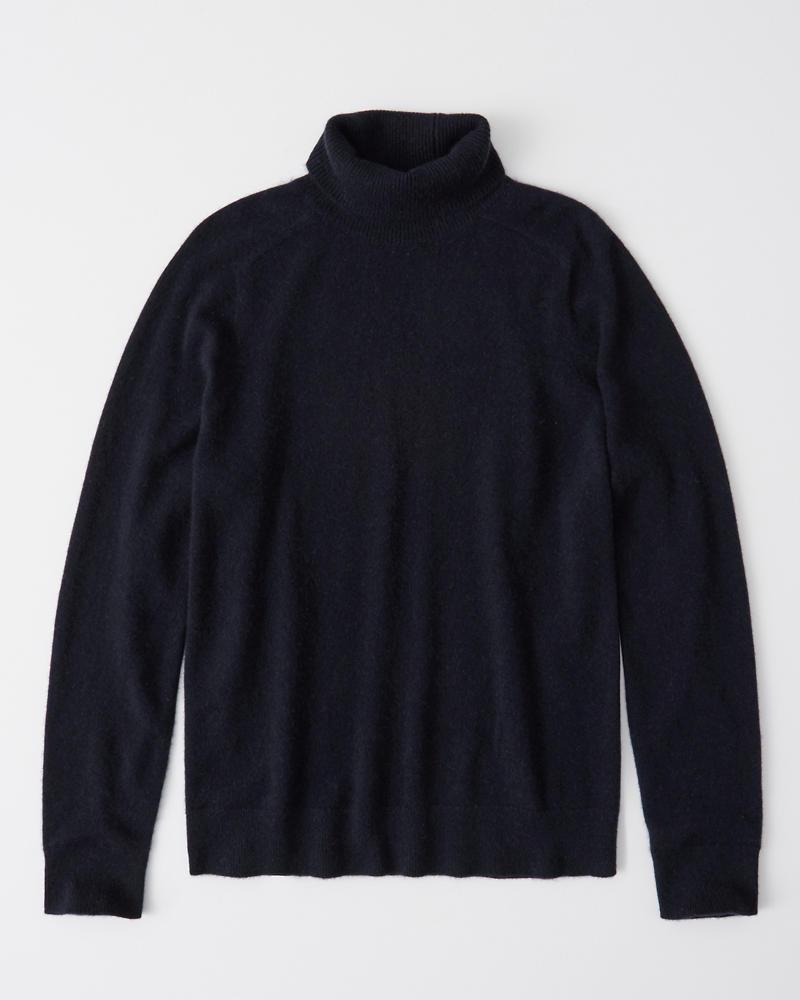 Mens Cashmere Turtleneck Sweater Mens Tops Abercrombiecom