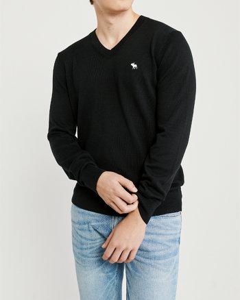 cb7c78ad555d0c The A F Icon V-Neck Sweater