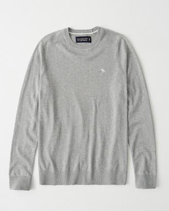 ANFIcon Cotton Cashmere Crewneck Sweater