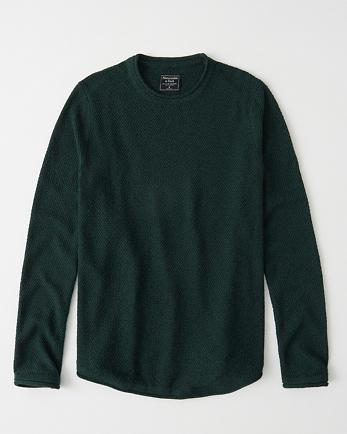 ANFCurved Hem Sweater