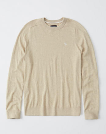 b54a252a Mens Crewneck & V-Neck Sweaters | Abercrombie & Fitch
