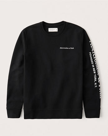 ANFLogo Crew Sweatshirt