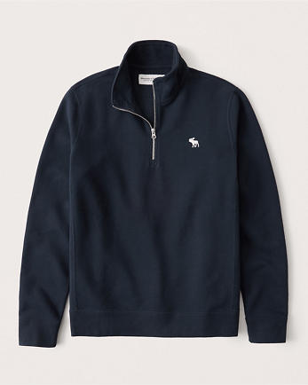 ANFHalf-Zip Icon Sweatshirt