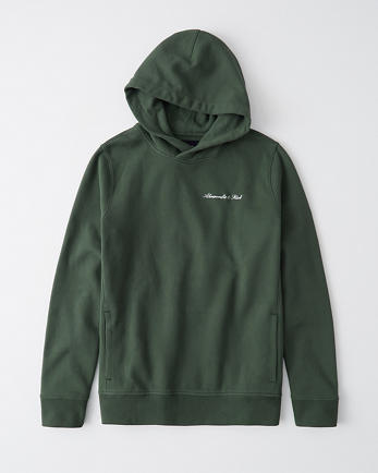 ANFThe A&F Perfect Popover Logo Hoodie