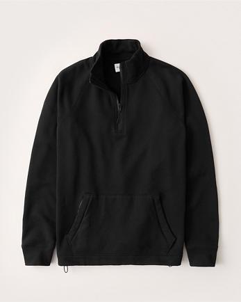 ANFUtility Half-Zip Mock Sweatshirt