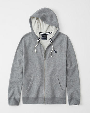 47c06a557f Lightweight Full-Zip Icon Hoodie