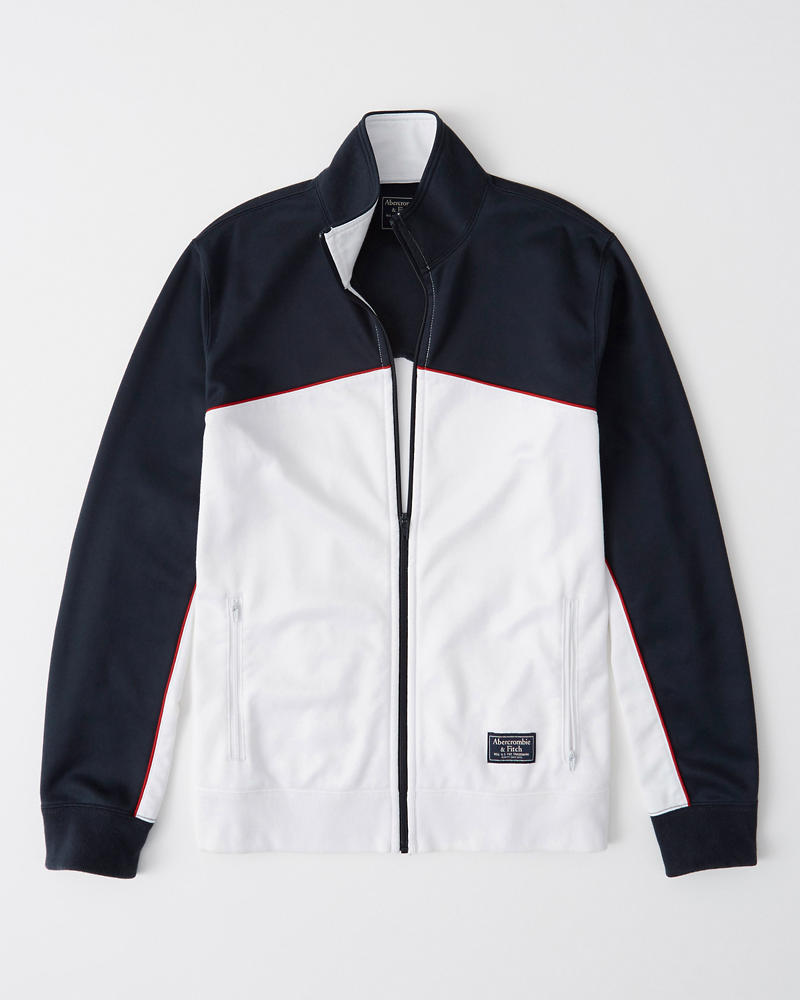ce3cafe7ee406 Colorblock Full-Zip Track Jacket