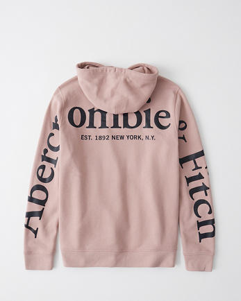 ANFExploded Logo Hoodie