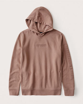 ANFThe A&F Logo Perfect Popover Hoodie