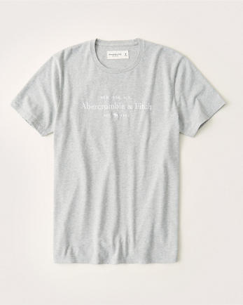 ANFEmbroidered Logo Tee