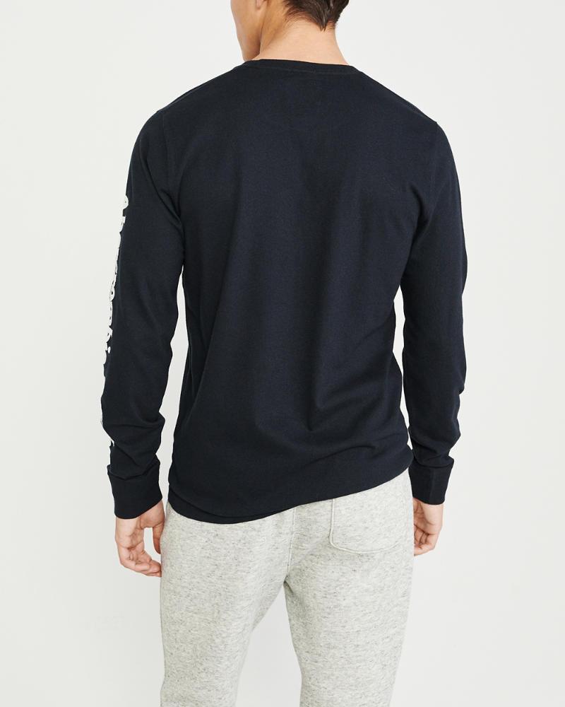 Vêtements et accessoires Hommes Manches Longues T-shirt avec Field Marshal Manches Arrière Plus Long Coupé T shirt