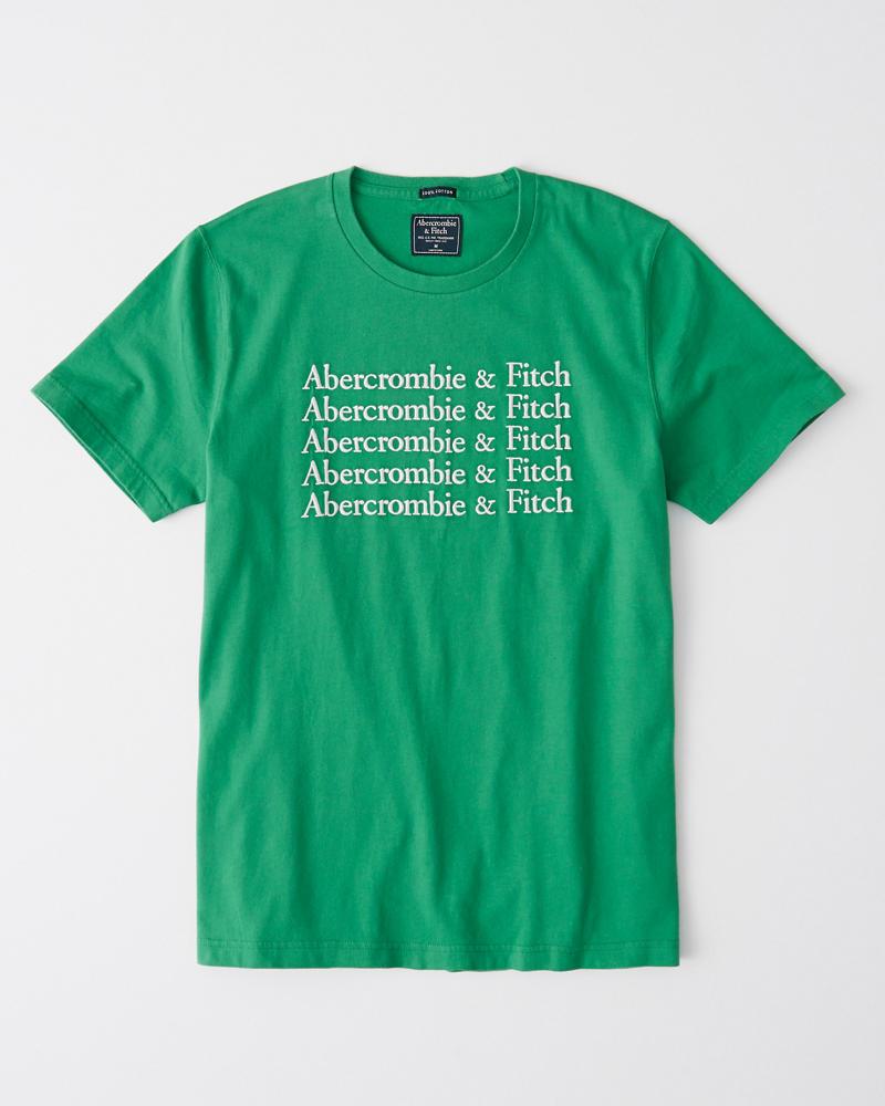 Hombre Camiseta con logo bordado  72a420d1fb233