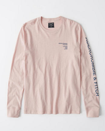 ANFLong-Sleeve Graphic Tee