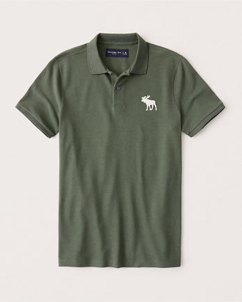 ANFExploded Icon Stretch Polo