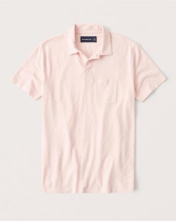 ANFSlub Jersey Polo