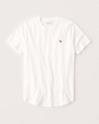 ANFCurved Hem Icon Tee