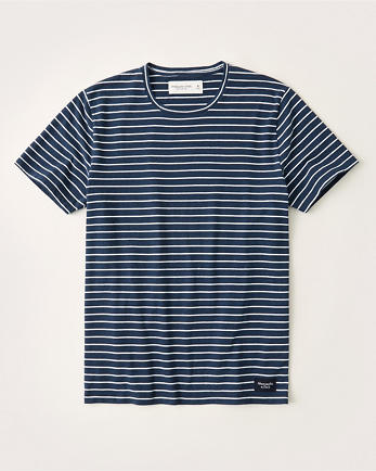 ANFShort-Sleeve Striped Tee