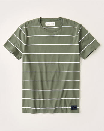 ANFShort-Sleeve Striped Tee