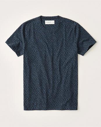 ANFShort-Sleeve Pattern Tee