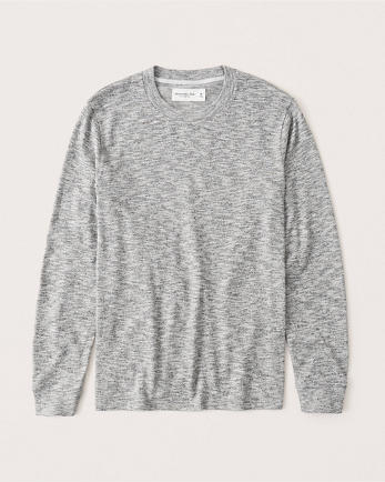 ANFLong-Sleeve Sweater-Knit Tee