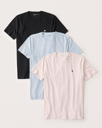 ANF3-Pack Icon Crew Tee