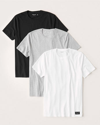 ANF3-Pack Crew Tee