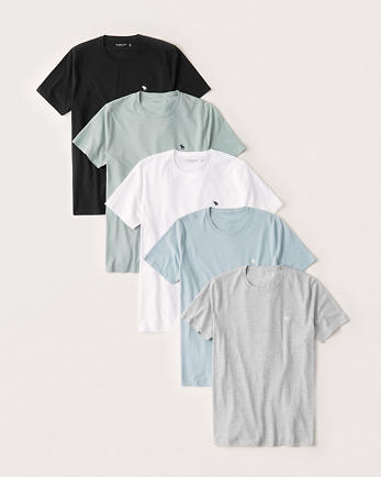 ANF5-Pack Short-Sleeve Icon Tee