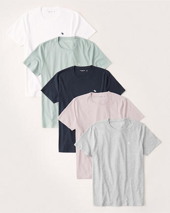 ANF5-Pack Icon Crew Tee