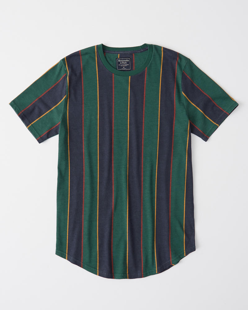 Curved Hem Tee by Abercrombie & Fitch