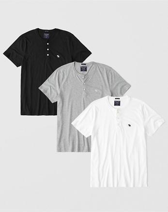 Hombre Camisetas henley  6c46054d3e2b6
