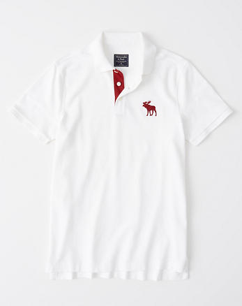 Homme Polos Abercrombie Fitch