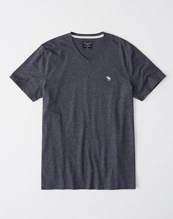 Hombre Camisetas con cuello en V  4d21cab25b51a