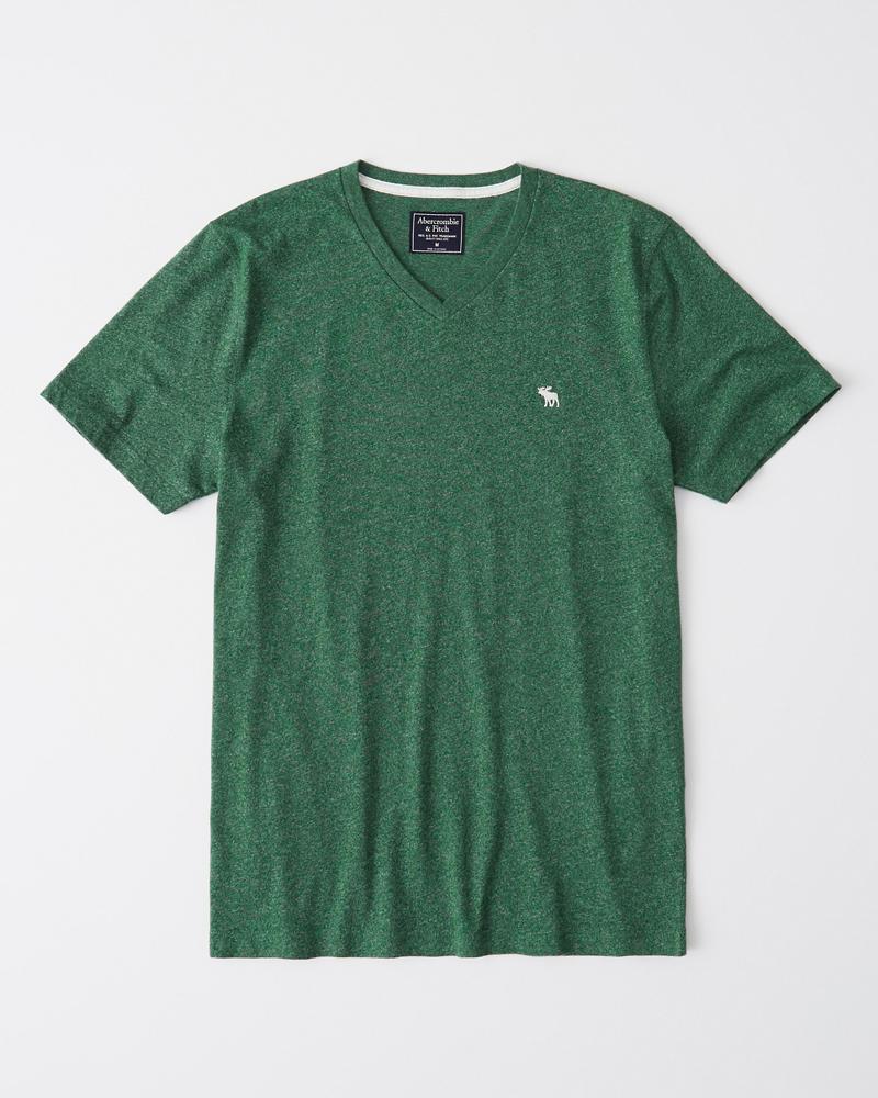 b713a2b11d588 Hombre Camiseta con cuello en V e icono