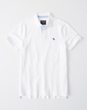 cc61abbe Mens Polos | Abercrombie & Fitch