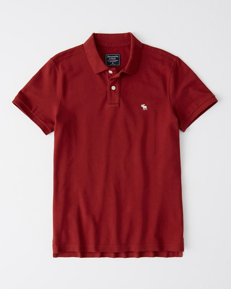Super Slim Icon Polo by Abercrombie & Fitch