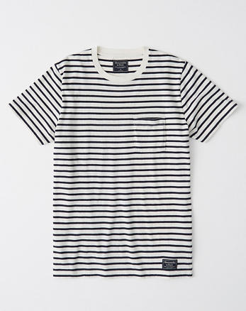 903b8da58 Striped Pocket Tee