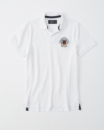 ANFGraphic Logo Stretch Polo