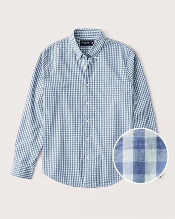 ANFPattern Poplin Shirt