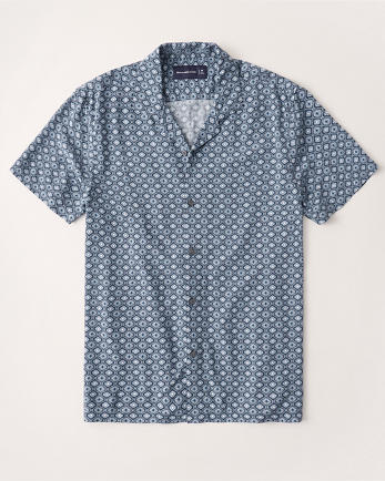 ANFVacation Button-Up Shirt