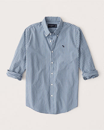 ANFIcon Poplin Button-Up Shirt