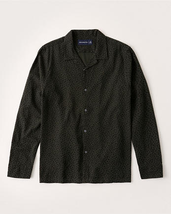 ANFResort Collar RSVP Shirt
