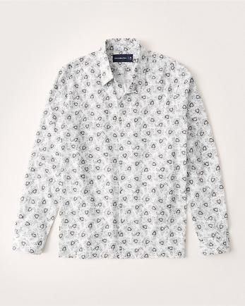 ANFLightweight Button-Up Shirt
