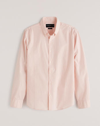 ANFSuper Slim Poplin Shirt