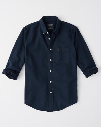 Camisa oxford con icono 9ef372c007ea0