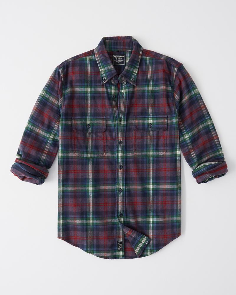 4c107fe958e Mens Flannel Shirt
