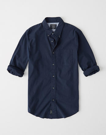 0924e635f Mens Dress Shirts | Abercrombie & Fitch