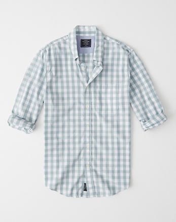 10a49355c Mens Shirts | Abercrombie & Fitch